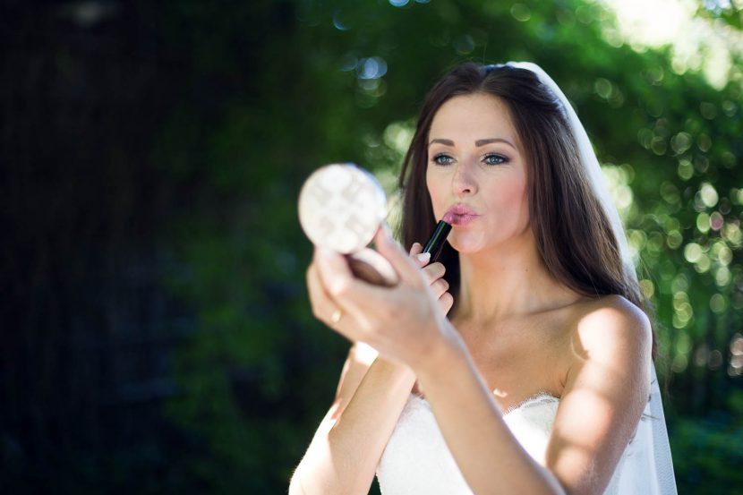 Hochzeitsfoto Braut getting ready hochzeit augsburg