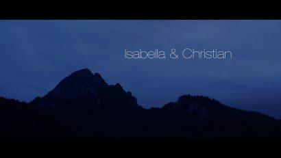 Hochzeitsvideo Anfangsbild romantisch berge Isabella & Christian