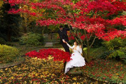 Ich liebe dich romantisches hochzeitsfoto augsburg botanischer garten