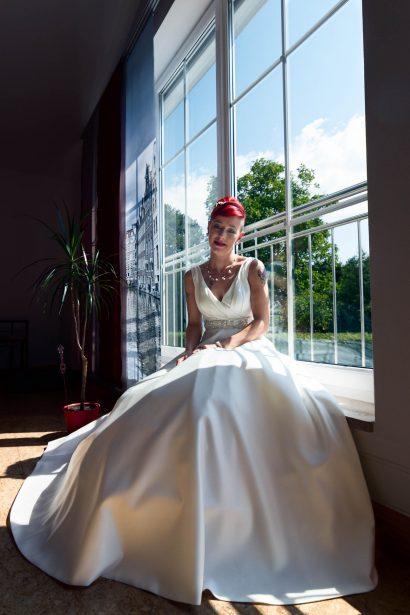 Braut im brautkleid, hochzeitsshooting von zammgfasst hochzeits bilder