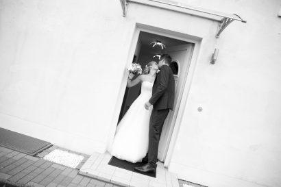 Hochzeitsfoto kuss