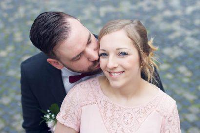 Hochzeitfotografie Ehepaar in Augsburg Herkulesbrunnen