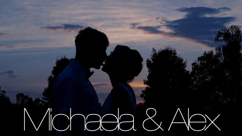 Film Hochzeit startbild romantisch kuss sonnenuntergang