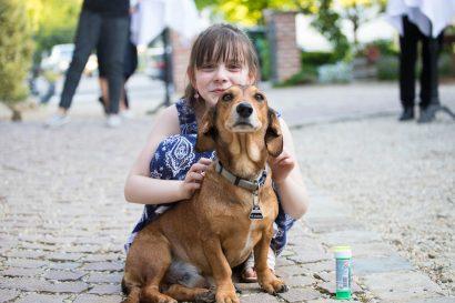 Hochzeitsvideo Ausschnitt Augsburg - Hochzeitsfotos mit Hund