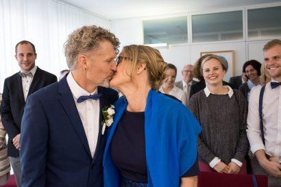 Hochzeitskuss Augsburg Stadtbergen
