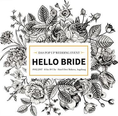 hello bride hochzeitsmesse augsburg logo