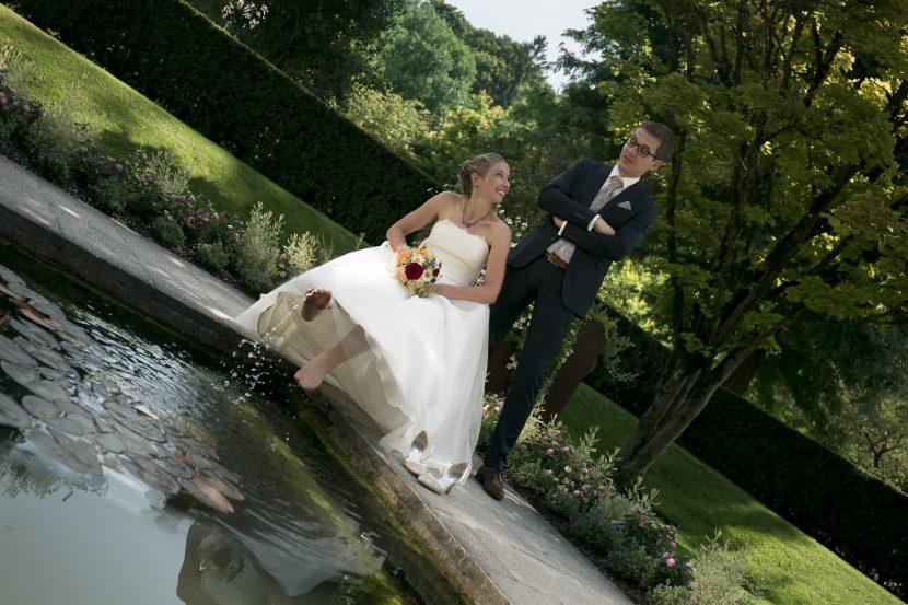 Hochzeit im Botanischem Garten Augsburg