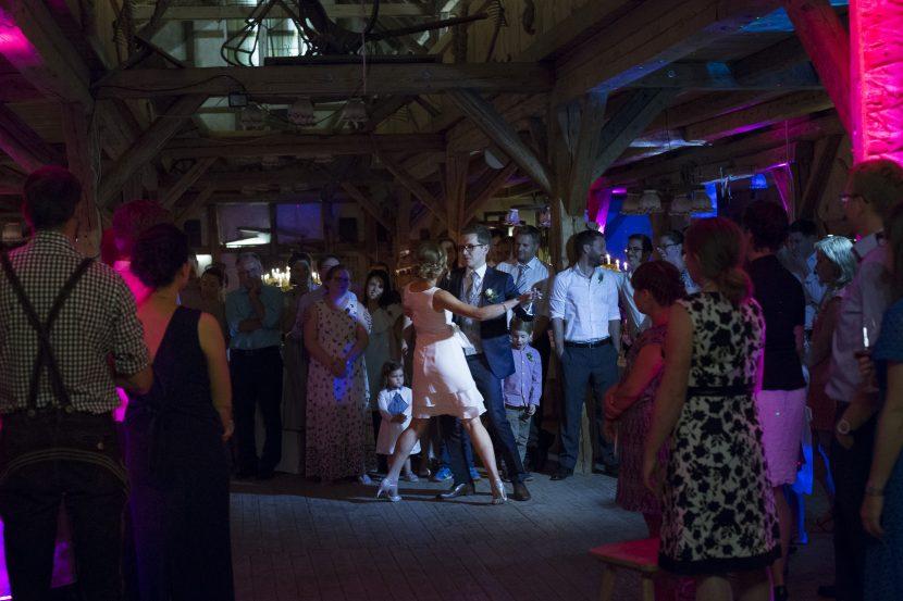 Hochzeitsfoto vom Eröffnungstanz