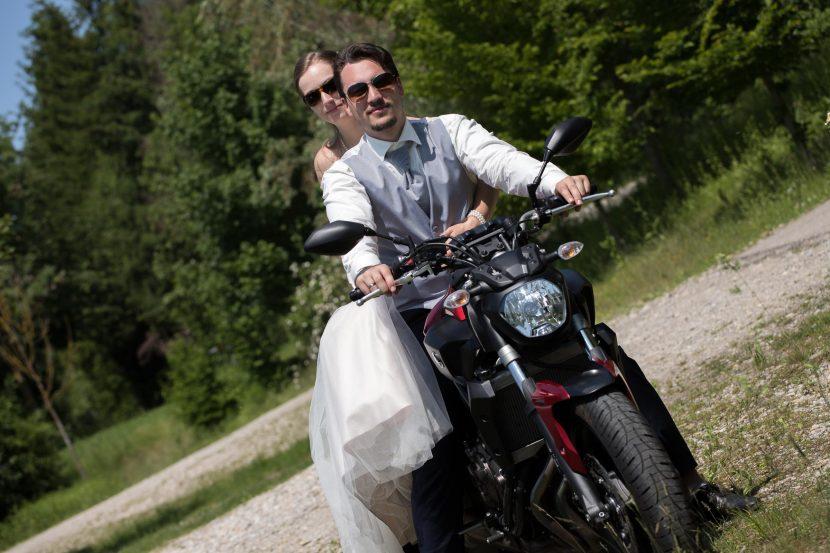 Hochzeitsfotograf Motorradhochzeit Augsburg