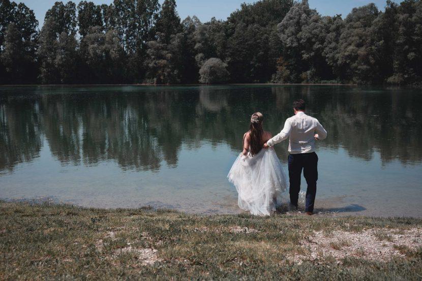 Hochzeit am Wasser München