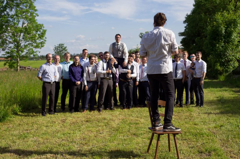 Hochzeitsfotograf München bei der arbeit
