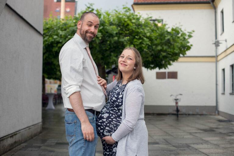 Schwangerschafts shooting augsburg lustig